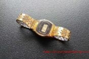Casio Old Gold Plated Watch 29009403220 L
