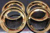 Gold Lambretta Rims 26255747900 L