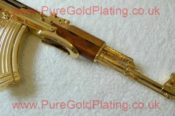 Gold Plated AK 47 J 5143575341 L