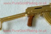 Gold Plated AK 47 O 5143575641 L