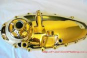 Gold Plated Bike Engine Casing 8340851279 L