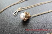 GoldPlated Pendant And Chain 29009410610 L