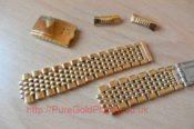 Omega Bracelet In 18k Gold Plate 6471758337 L