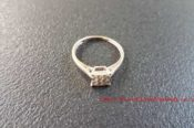 Platinum Plated Diamond Ring 29118714964 L