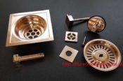 Rose Gold Bathroom Shower Parts 29424360263 L