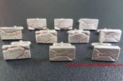 Silver Cuff Links Rose Gold Inlay 30550948996 L