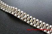 White Gold Plated Rolex Bracelet Crown 32949219064 L