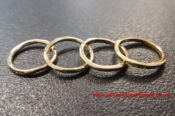 Wright Teague Gold Plated Rings 31079899956 L